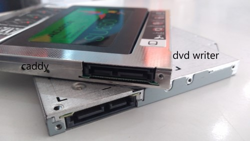 ssd in caddy