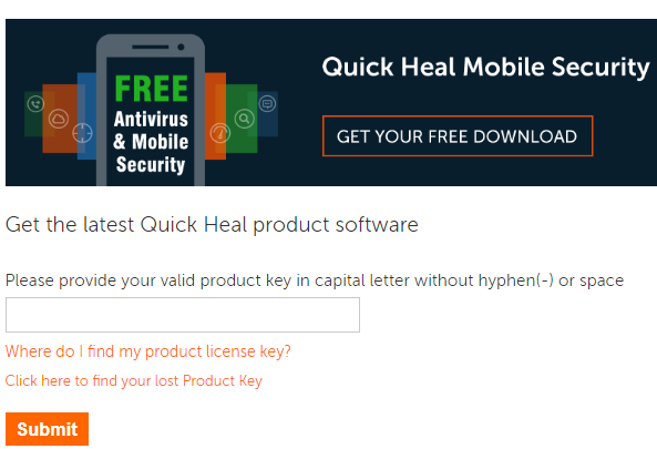 how to download quick heal antivirus